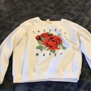 Forever 21 girls sweater